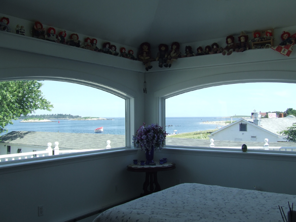 Spinney's Guesthouse%2C Popham Beach%2C Maine View from the Master Bedroom