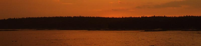 Maine Sunset Changes Colors - Header - Andrea Brand Photo